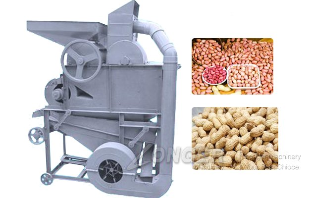 High Capacity Peanut Sheller For Commercial|Peanut Shell Removing Machine