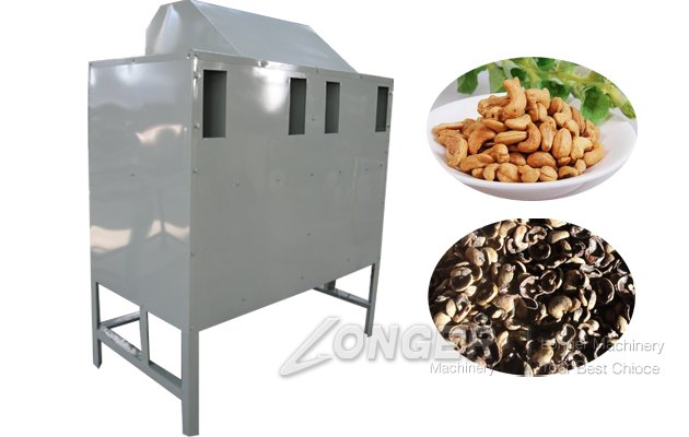 Cashew Nut Shelling Processing Machine