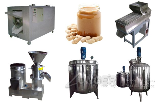 100KG/H Peanut Butter Production Line