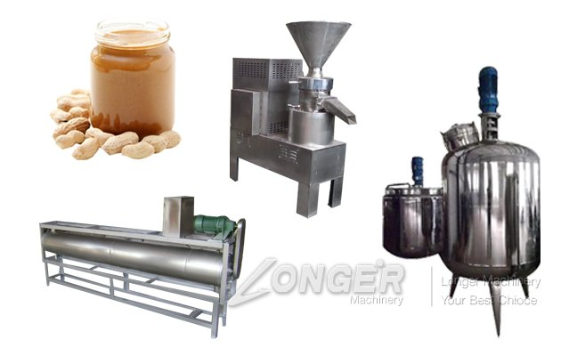300KG/H Peanut Butter Production Line