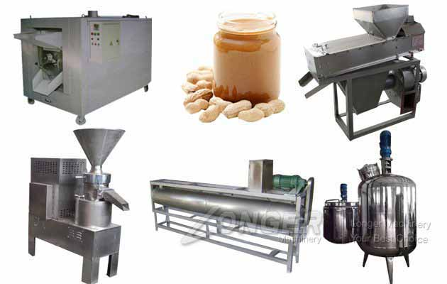 Commercial Peanut Butter Production Line Making Machine Supplier
