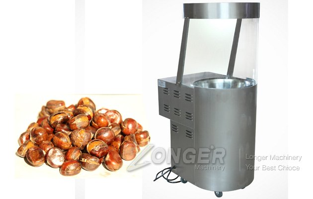 Chestnut Frying Machine For Sale|Nuts Fryer Machine