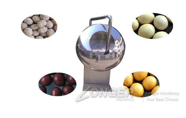 Sugar Coating Machine For Good Quality|Coated Peanut Making Machine
