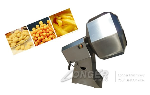 Octagonal Snack Food Seasoning Machine