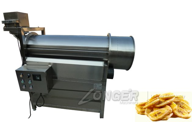 Drum Coating And Seasoning Machine For Snack Food