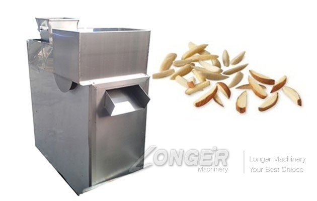 Automatic Peanut Almond Strip Cutting Machine