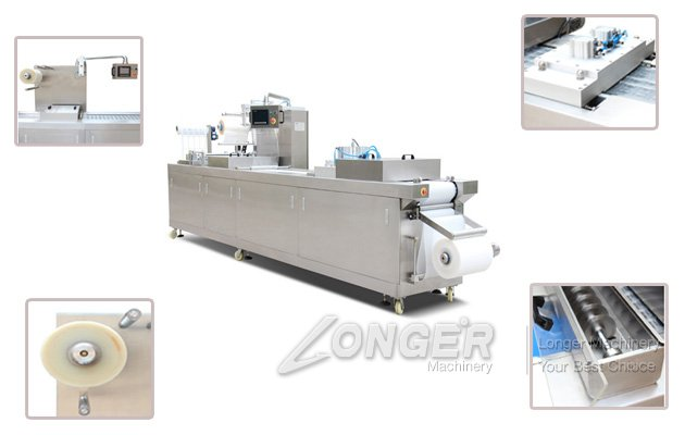 Automatic Vacuum Stretch Film Packing Machine