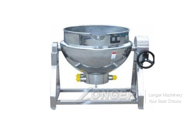 Electric Stainless Steel Sugar Pot Mixing Machine