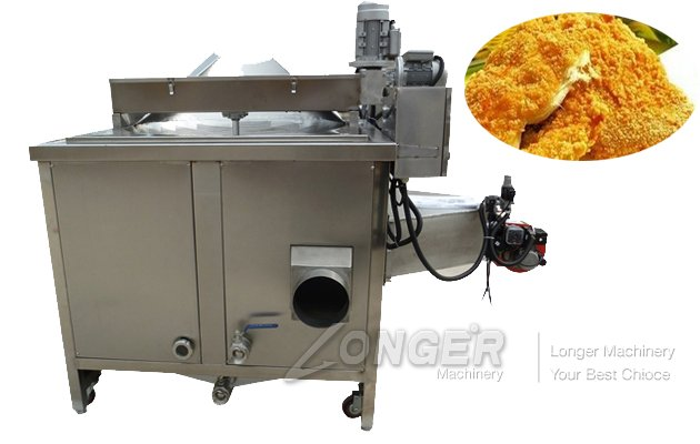 Potato Chips Deep Fryer Machine with Gas/Electric Heating