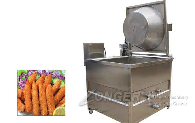 Gas Heating Chickpeas Deep Fryer Machine