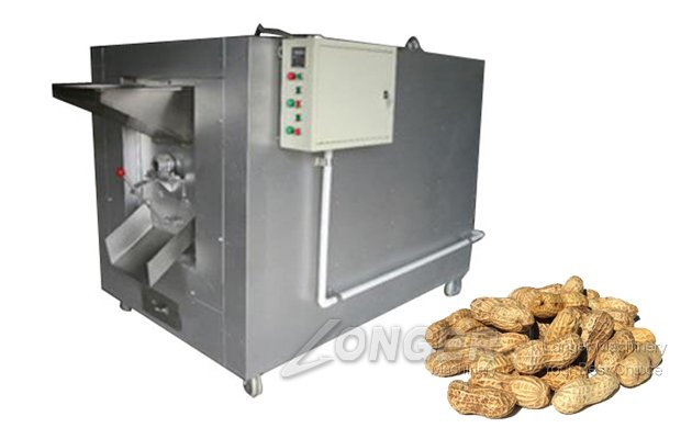 Eat Beans Drum Drying Roasting Machine