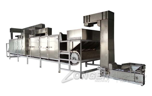 Continuous Electric Soybean Roaster Machine for Sal