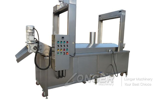 Electric Heating Continuous Peanut Fryer Machine