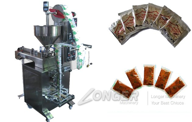 Automatic Sauce Packaging Machine