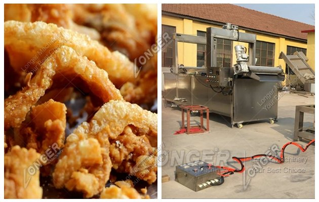 Pork Rind Frying Machine