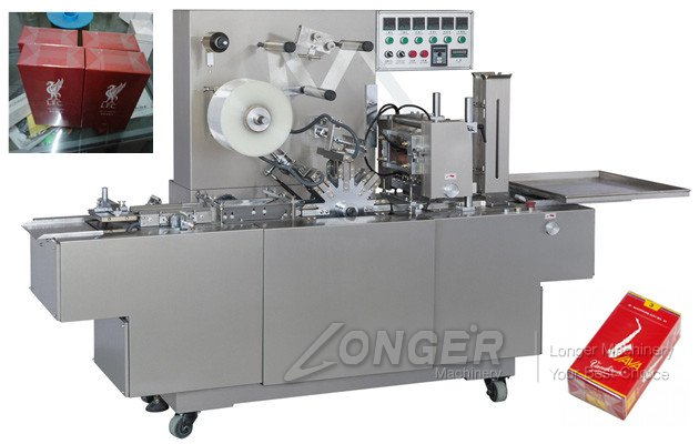Automatic Cigarettes Carton Wrapping Packing Machine