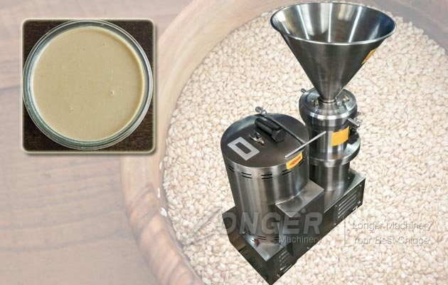 Automatic Sesame Paste Grinding Making Machine|Sesame Tahini Grinder Machine