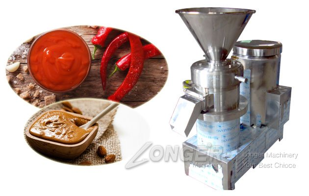 Chili Paste Sauce Making Machine|Almond Butter Grinder Stainless Steel
