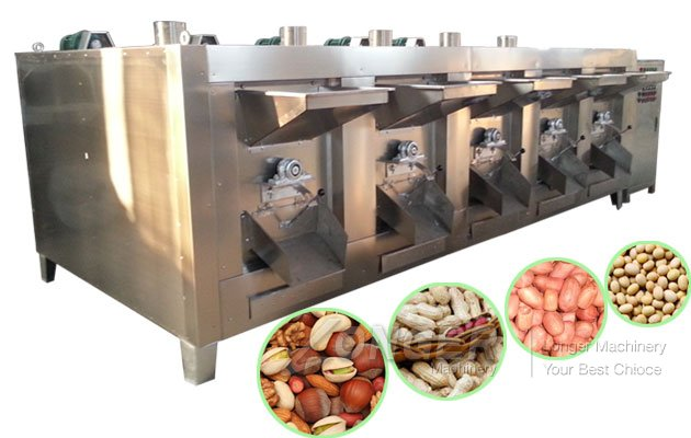 High Efficiency Nuts Baking Machine|Beans Roaster Equipment