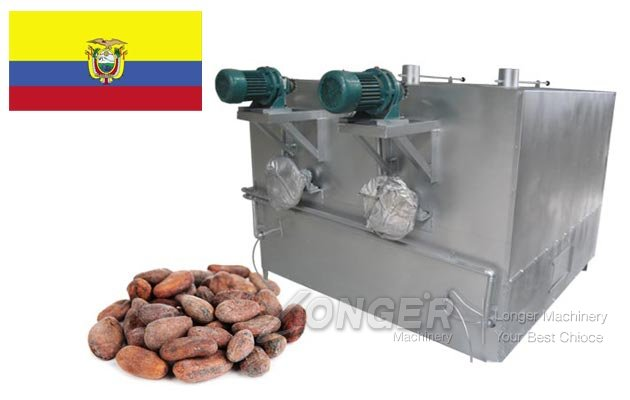 Cocoa Bean Roasting Machine Ecuador
