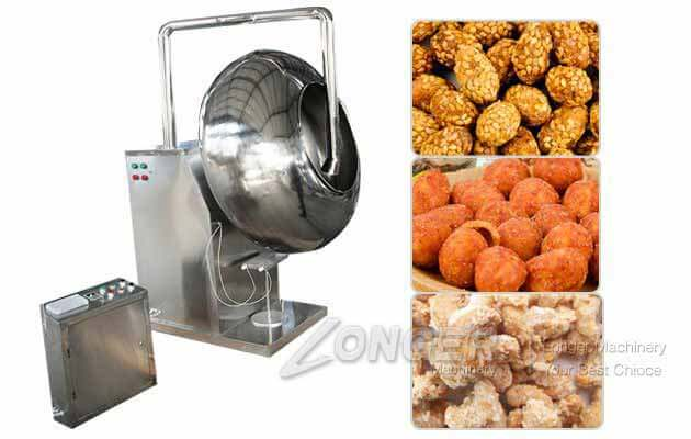 Manual Peanut Coating Making Machine in Nigeria 30-50 kg/h