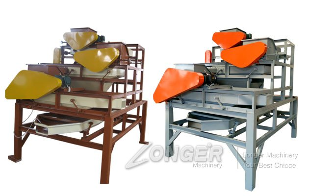 Almond Shelling Machine Video