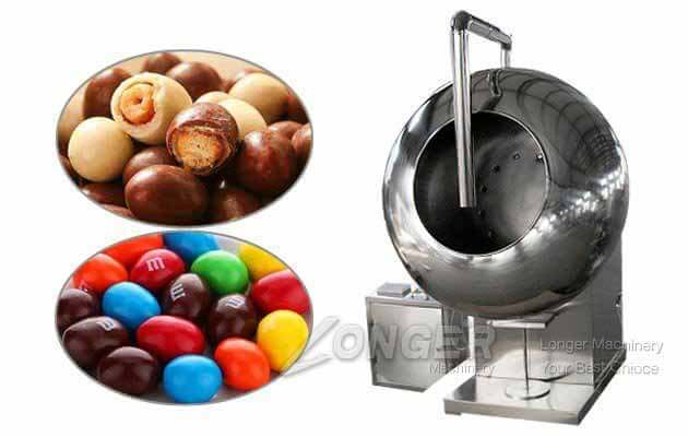 Chocolate Candy Coating Machine For Good Quality|Pills Coating Machine