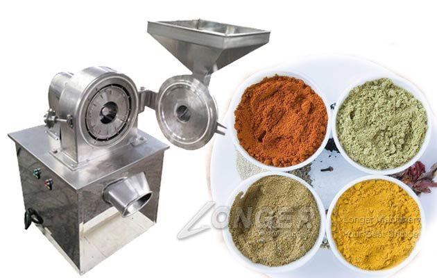 Stainless Steel Pepper Powder Mill Machine|Spices Grinding Machine