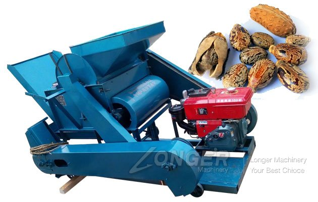 Diesel Oil Castor Seed Shelling Machine