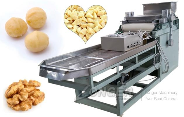 Electrical Macadamia Nut Chopping Machine|Walnut Chopper Dicer