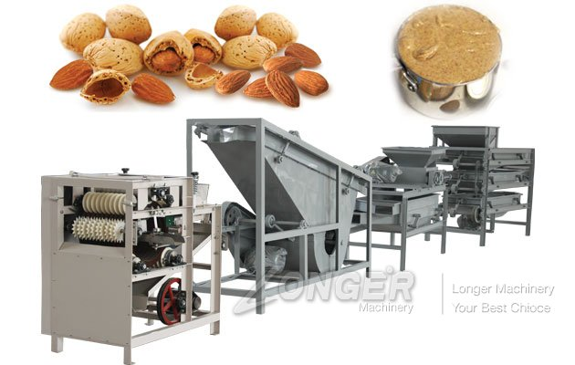 Almond Butter Production Process