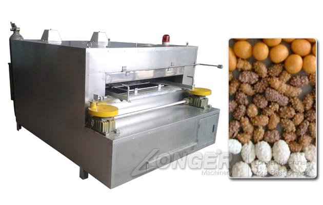 Sugar Flour Coated Peanut Swing Roasting Machine|Groundnut Roaster for Sale