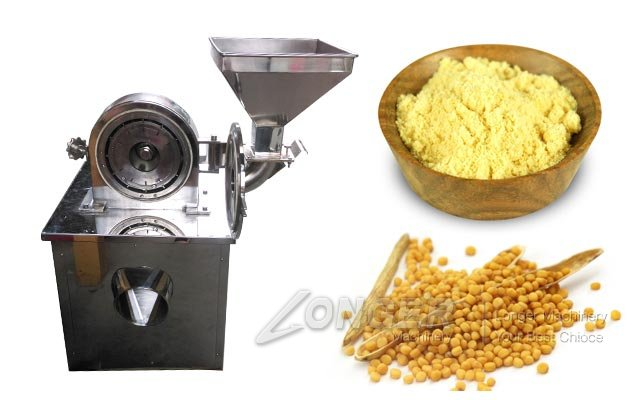 Yellow Mustard Powder Making Machine|Dry Seed Crushing Machines