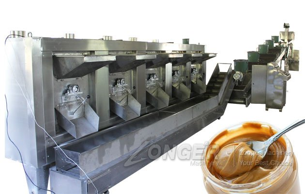 Peanut Butter Manufacturing Plant in India