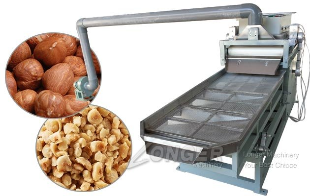 Commercial Hazelnut Almond Nut Crusher Machine With
