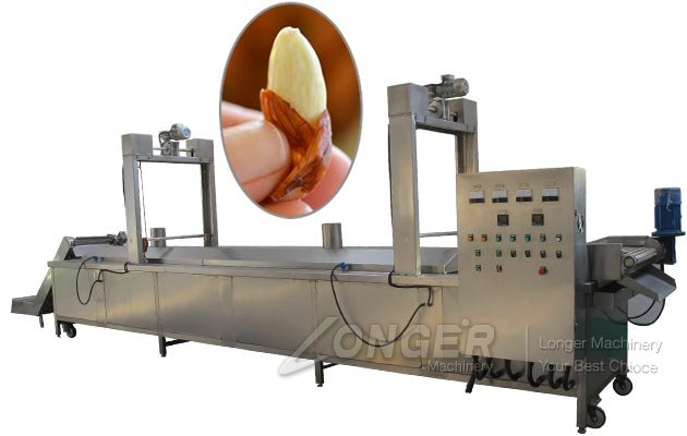 Continuous Almond Blanching Equipment|Peanut Blanch