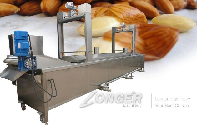 Almond Blanching Machine