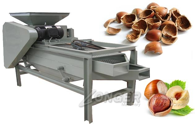 Hazelnut Cracking Machine|Filbert Nut Cracker