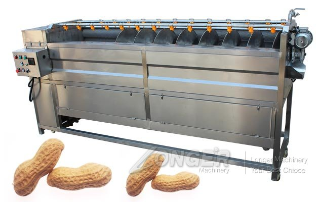 Electric Peanut Cleaning Machine Large Scale