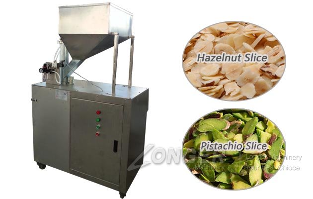 Pistachio Slice Cutting Machine|Hazelnut Kernel Slicer