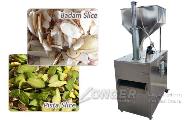 Badam Pista Slicer|Almond Kernel Slice Cutting Machine