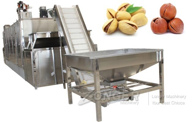 Pistachio Roasting Machine|Hazelnut Chestnut Roaster Equipment Suppliers