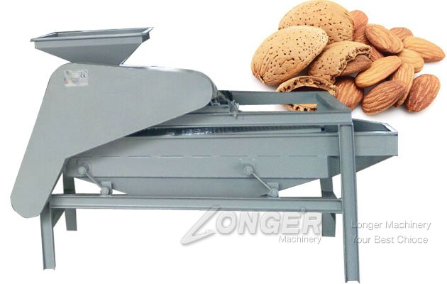 Commercial Almond Nut Cracker|Shell Cracking Machine