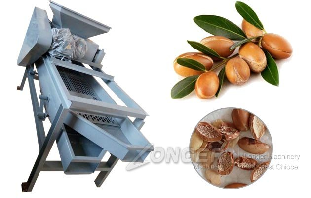 Argania Spinosa Shell Cracking Machine|Argan Nuts Sheller Huller