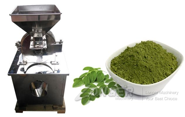 Moringa Leaf Grinding|Powder Making Machine
