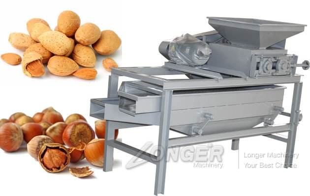 Almond Shell Cracking Machine for Sale