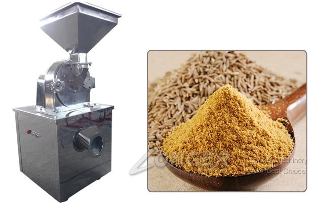 Cumin Seeds Grinding Machine|Jeera Powder Making Equipment India