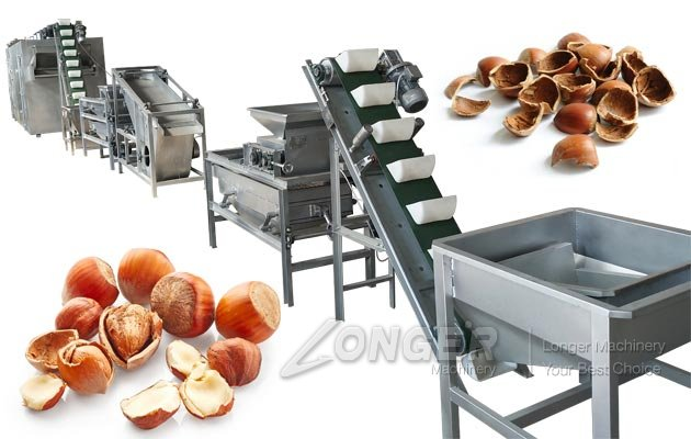 Hazelnut Dehulling Drying Equipment|Chestnut Sheller Dryer Machine Price