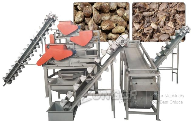 Commercial Palm Kernel Cracking and Separating Machine