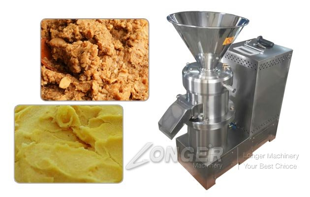 Miso Paste Making Machine|Industrial Soybean Grinder